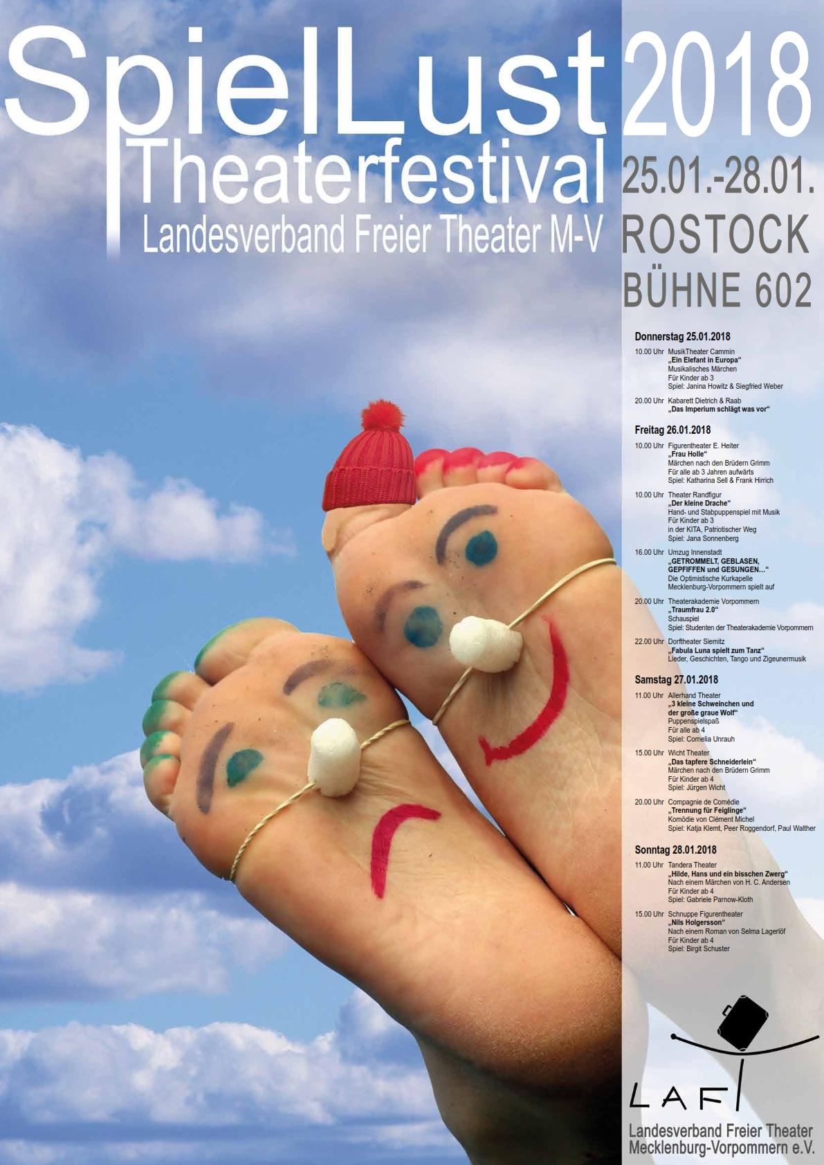 25.01. – 28.01.2018 – SpielLust – Theaterfestival des Landesverbands ...