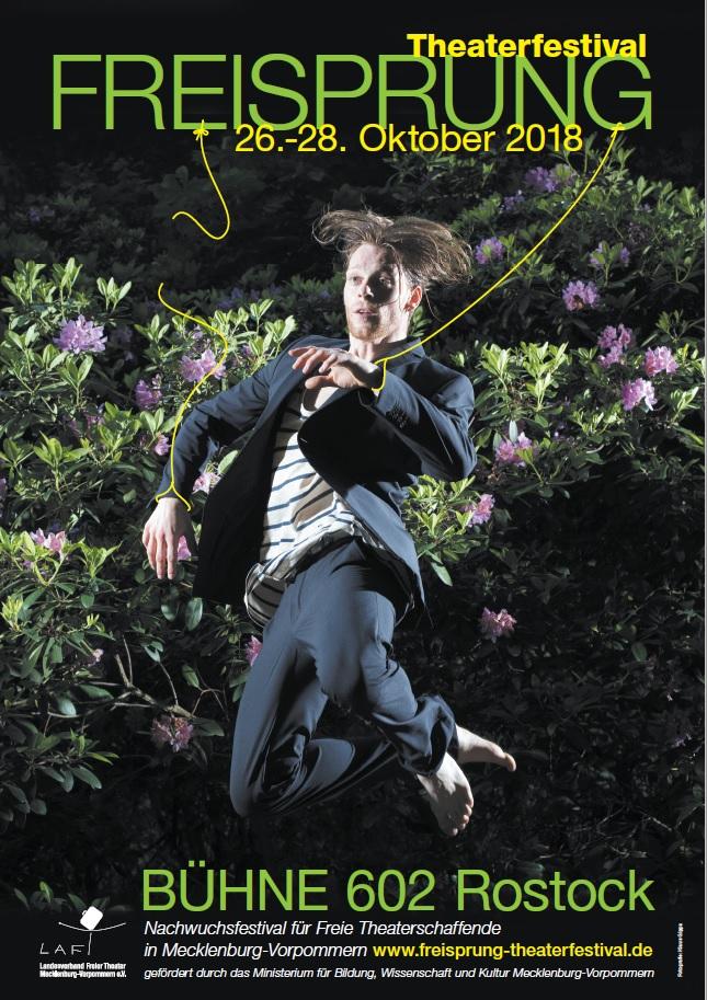 Plakat Freisprung 2018